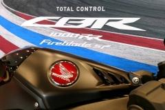 Honda CBR1000 RR Fireblade Color Negro Mate Perlado Morion en Servihonda