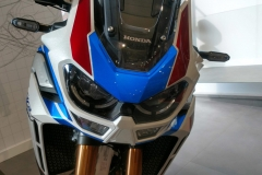 Honda África Twin Adventure Sports Color Blanco Perla Glare Tricolour.