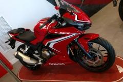 Honda CBR500R en Servihonda.