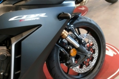 Honda CBR650R Coloro Negro Gunpowder Mate Metalizado en Servihonda.