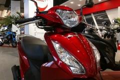 Honda Visión 110 Color Rojo Candy Noble en Servihonda.