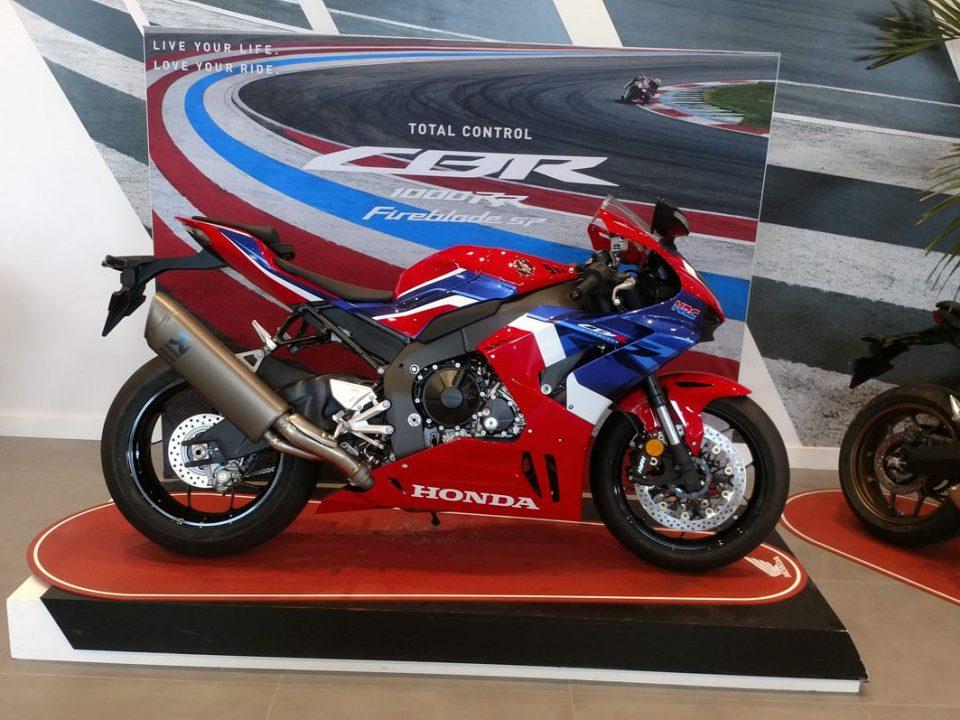 Honda CBR 1000 RR R Fireblade en Servihonda.