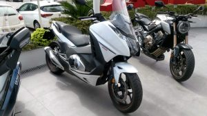 Honda Integra Demo Bike en Servihonda.