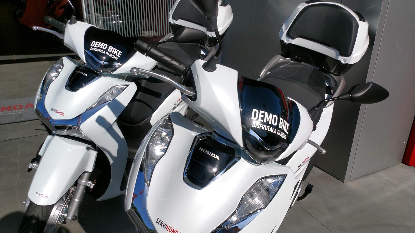 Honda SH Demo Bike en Servihonda.
