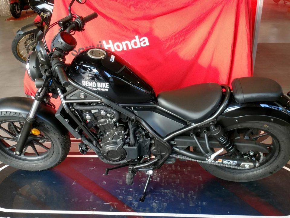 Honda Rebel 2020 de Demostración en Servihonda.