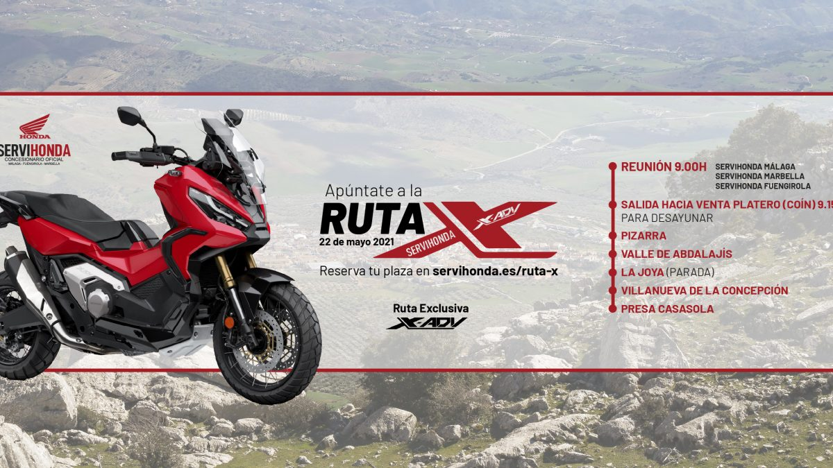 RUTA X   X-ADV SERVIHONDA